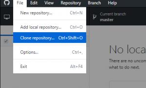 GitLab使用TortoiseGit进行代码管理的常见配置及使用步骤